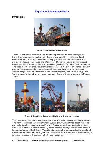Physics at Amusement Parks