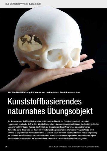 erschienen in Bildungskatalog Kunststofftechnologie 2013 - Kemptner
