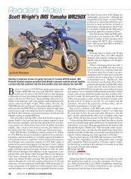 Readers' Rides - Motorcycle Consumer News