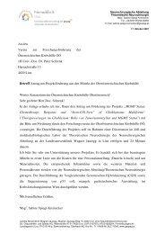 Therapieversagen beim Glioblastom - Krebshilfe Oberösterreich
