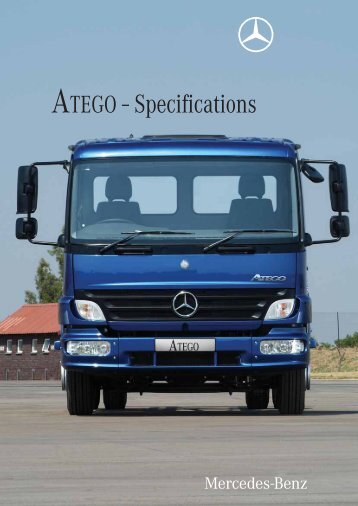 ATEGO - Specifications (1763 KB, PDF) - Mercedes-Benz South Africa