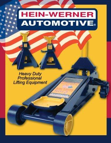 Hein Werner Catalog - Metro Hydraulic Jack Co
