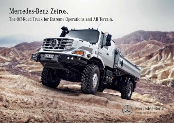 Mercedes-Benz Zetros. - Mercedes-Benz UK