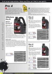 Silkolene olie og spray - Masi-Import
