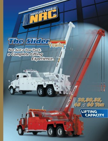 Download the NRC Industries Sliders Family (PDF) - PM Industries