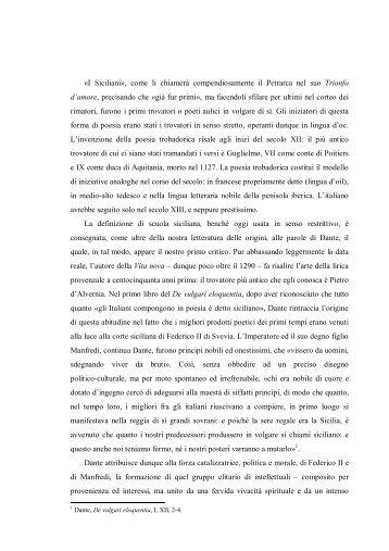 La scuola siciliana - Marco MG Michelini