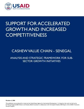 support for accelerated growth and increased competitiveness