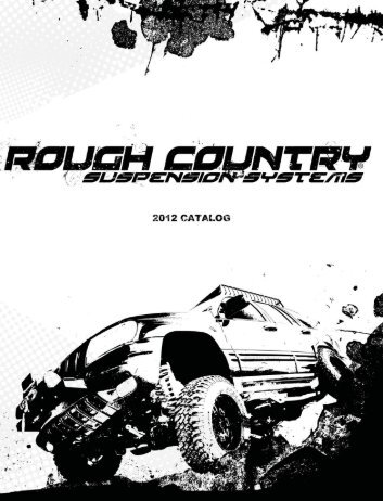 Download 2012 Catalog - Rough Country