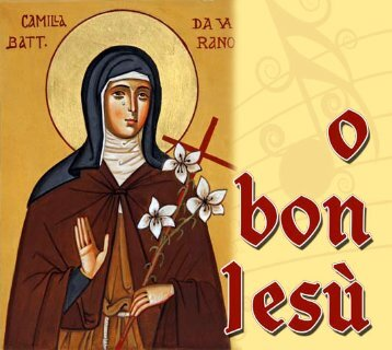 brochure cd.pdf - Sorelle Povere di Santa Chiara