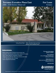 Torrance Executive Plaza East For Lease - The Muller Company