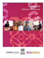 SENEGAL Artisan Directory - Unido
