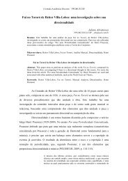 Fui no Tororó de Heitor Villa-Lobos: uma investigação ... - ECA - USP