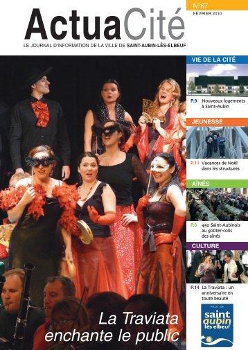 La Traviata enchante le public - Ville de Saint-Aubin-lès-Elbeuf