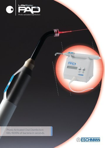 Photo-Activated Oral Disinfection Kills 99.99% of ... - Eschmann Direct