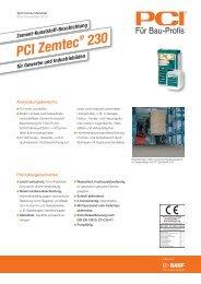PCI Zemtec - Bodenwelt24.de