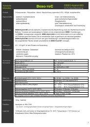 zur Technischen Information - Steinteppich DEBO-TEC