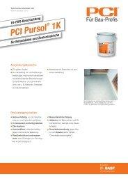 PCI Pursol - PCI-Augsburg GmbH