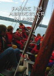Fahrt ins Abenteuer Klasse 7 Fahrt ins Abenteuer Klasse 7 - Freie ...