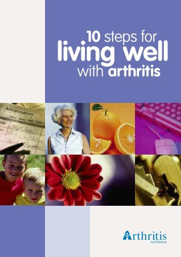 10 Steps For Living Well With - Arthritis Australia