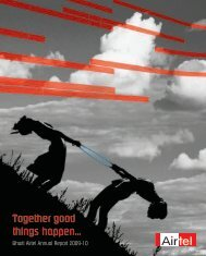 Together good things happen - Airtel