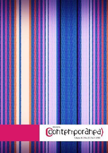 Edição 16 | Ano 8 | No.3 | 2010 REVISTA - Contemporânea - Uerj
