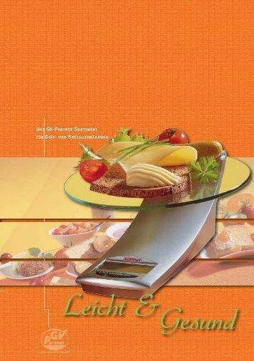 Diät-Katalog zum Download - GV-Partner