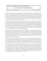 Complessità di Kolmogorov