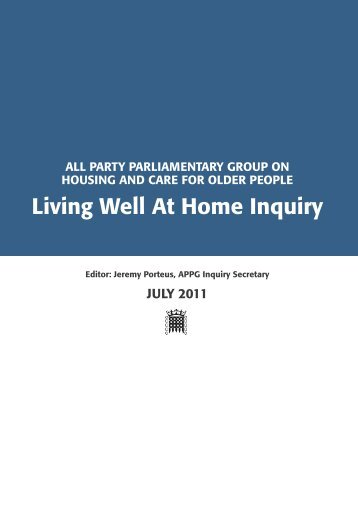 Living Well At Home Inquiry (pdf - 1.50Mb) - Housing LIN