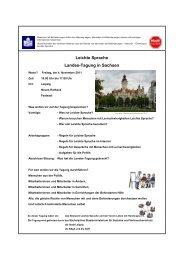 Tagungs- Dokumentation - Kompetenzzentrum für behinderte und ...
