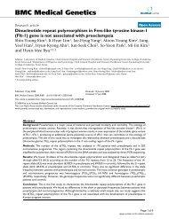 Dinucleotide repeat polymorphism in Fms-like tyrosine kinase-1 (Flt ...