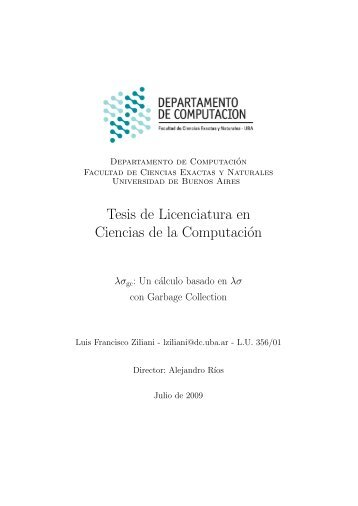 Tesis de Licenciatura en Ciencias de la Computación - Manas