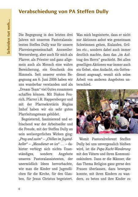 Pfarrbrief Advent 2009 - Kirche Annweiler