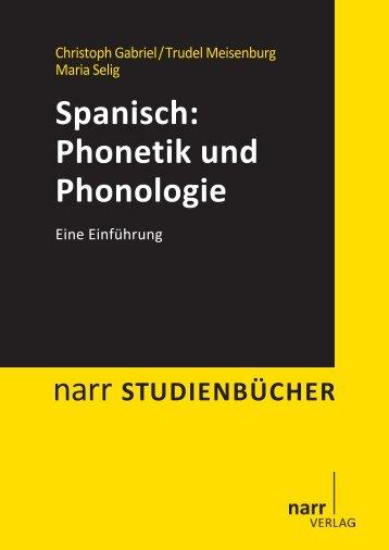 Spanisch: Phonetik und Phonologie - narr-shop.de