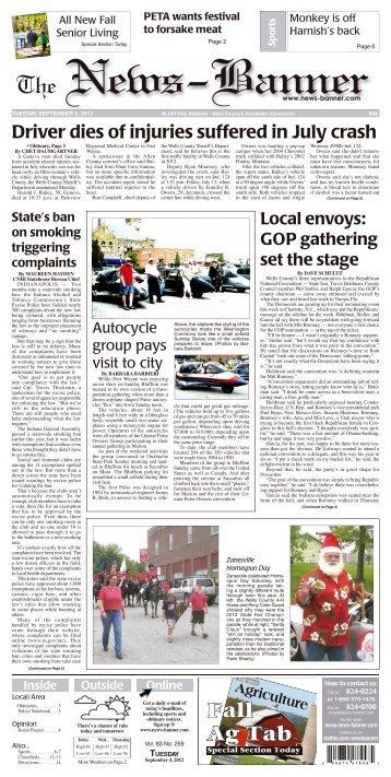 Fall Ag Tab 2012 - Bluffton News Banner