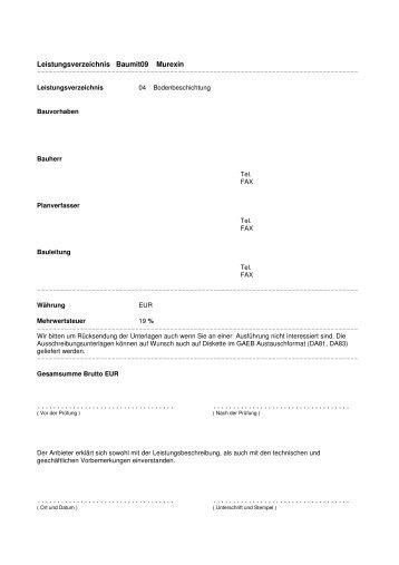 Bodenbeschichtung (pdf) - Murexin