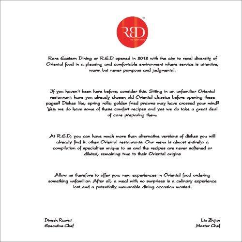 red menu ludhiana - Radisson Blu