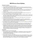 Download the Australian Syllabus for Bronze and ... - RSCM Australia - Page 3