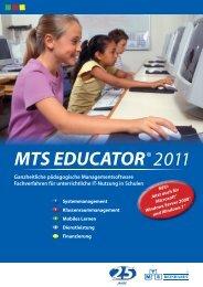 Download MTS EDUCATOR® Produktbroschüre - bei ALSO ...