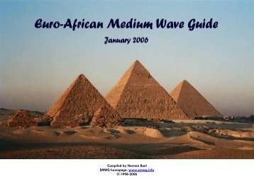 European Medium Wave Guide - Wwrundfunk.de