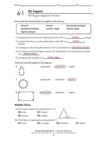 Non Euclidean Geometry Pdf  Polígonos irregulares
