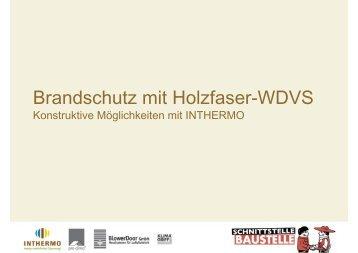 Brandschutz mit Holzfaser-WDVS - pro clima Deutschland – das Blog