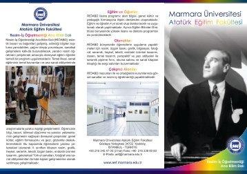 Resim-İş Öğretmenliği - Marmara Üniversitesi