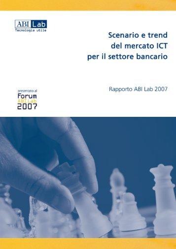 Rapporto ABI Lab 2007