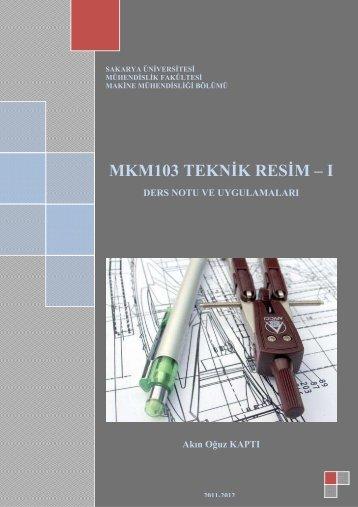 Teknik Resim Ders Notu - Sakarya Üniversitesi