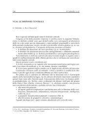 VI.16. LE DISFONIE CENTRALI - AOOI