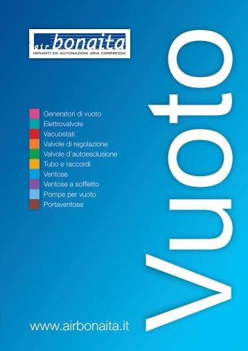 Catalogo Componenti per Vuoto - Air Bonaita