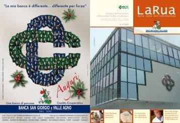 4/2006 - Banca San Giorgio Quinto Valle Agno
