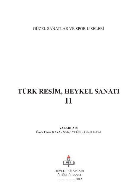 Turk Resim Heykel Sanati Eba