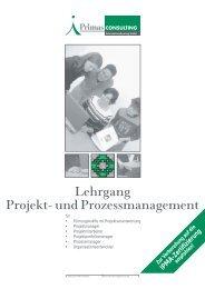 Lehrgang Projekt- und Prozessmanagement - Pressetext Austria