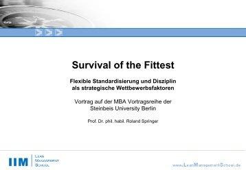Qualifizierung Prozessmanager Service (Lean Management ... - IIM